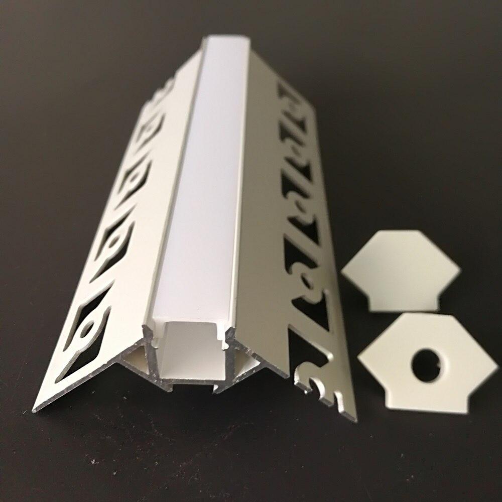 20m lot 2m pc Architectural Gypsum Plaster aluminium led profile led aluminum channel Led Aluminum Profile