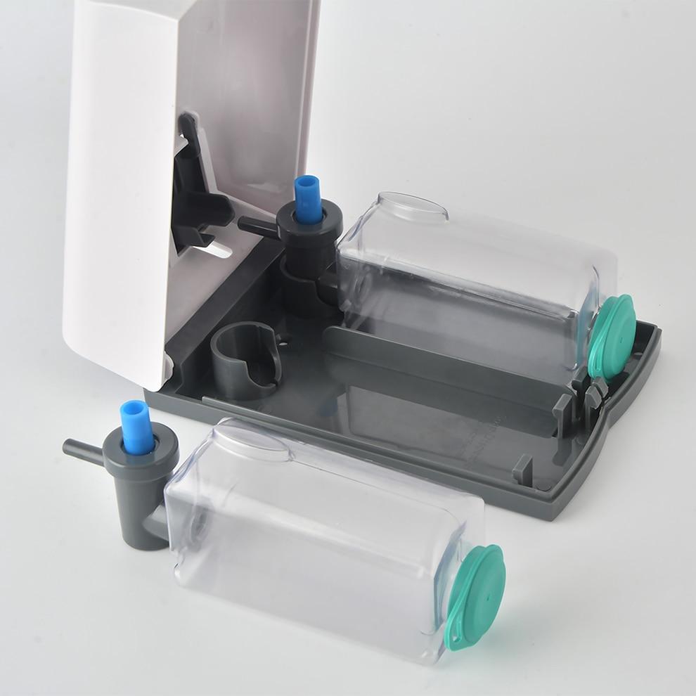 Dubbla hand flytande tvål Dispenser Väggmonterad Shampoo Dusch Gel ... 05763d24a63b0