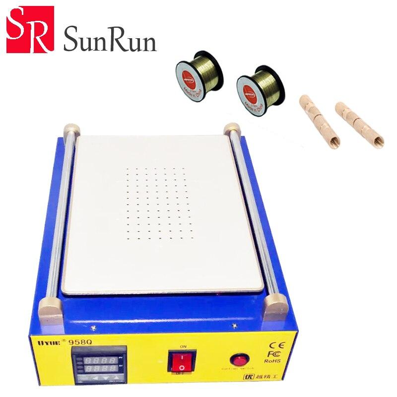 UYUE 958Q 2 in 1 Multifunction LCD Repair Machine Built in Vacuum Pump Max 11 inches