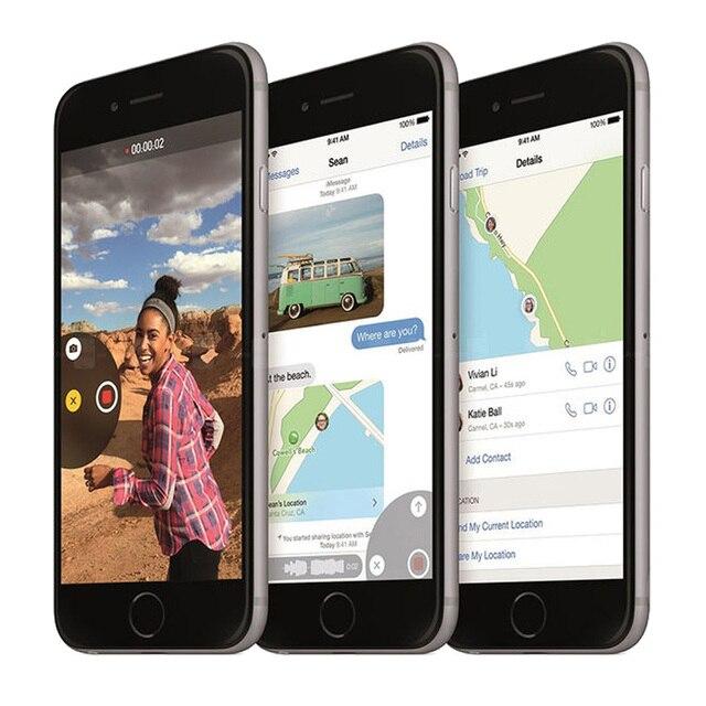 100% Original Apple iPhone 6 Dual Core 4.7Inches 1GB RAM 16/64/128GB ROM 8MP Camera WCDMA LTE IPS IOS Unlocked Used Smartphone 1