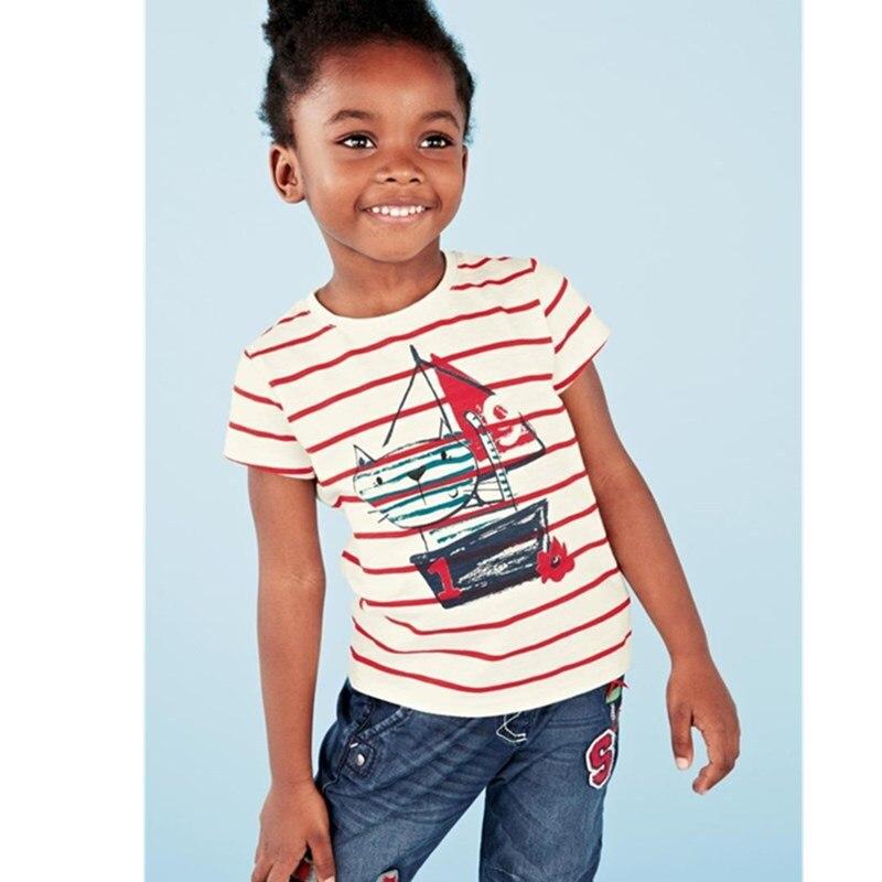 2017 Bērnu T krekli Zēni Tshirt Meitenes Topi un Tees Bērnu krekls - Bērnu apģērbi