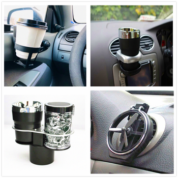 Car carrier drink holder cup water Folding Air Inlet Beverage Bottle for Suzuki Aerio Ciaz Equator Esteem Forenza Forsa Grand image