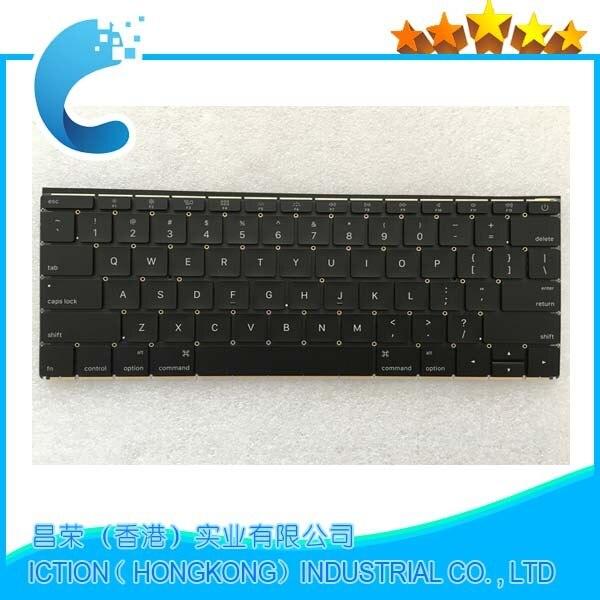 100%New original For Macbook 12 Retina A1534 US Keyboard 2015 new original stk403 100
