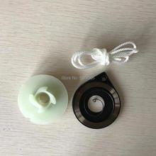 45 52 58 стартер бензопилы одиночный стартер веревочный ротор с пружиной с веревкой для замены стартера
