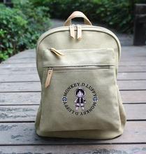 Японский Мода Аниме One Piece печати рюкзак для подростков Baymax парусиновые модные школьные сумка бренд женский мужской рюкзак