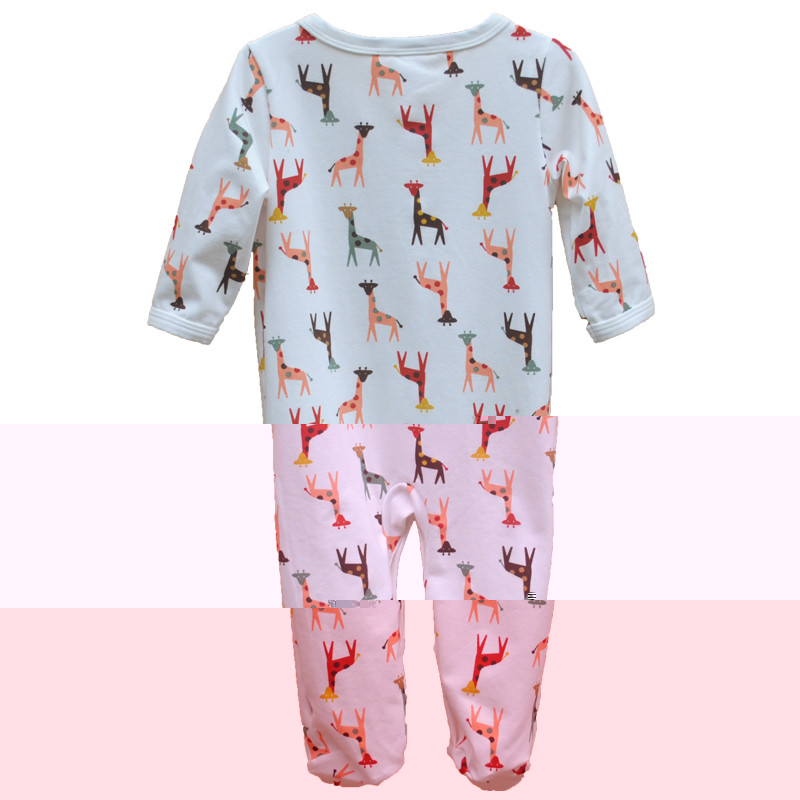 Brand Newborn Baby Clothes Cute Cartoon Baby Costume Girl Boy Jumpsuit Clothing Spring Autumn Cotton Romper Body Baby Clothes 4