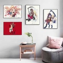 Satsuriku No Tenshi Anime Minimalist Posters And Prints Wall Art Canvas Painting For Living Room Decoration Home Decor Unframed