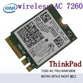 7260NGW doble banda 2,4/5,0 GHZ/802.11ac WirelessAC 7260 Bluetooth 4,0 NGFF 04W3806 Linux/Win7/Win8/ win10 T440 T440S X240S