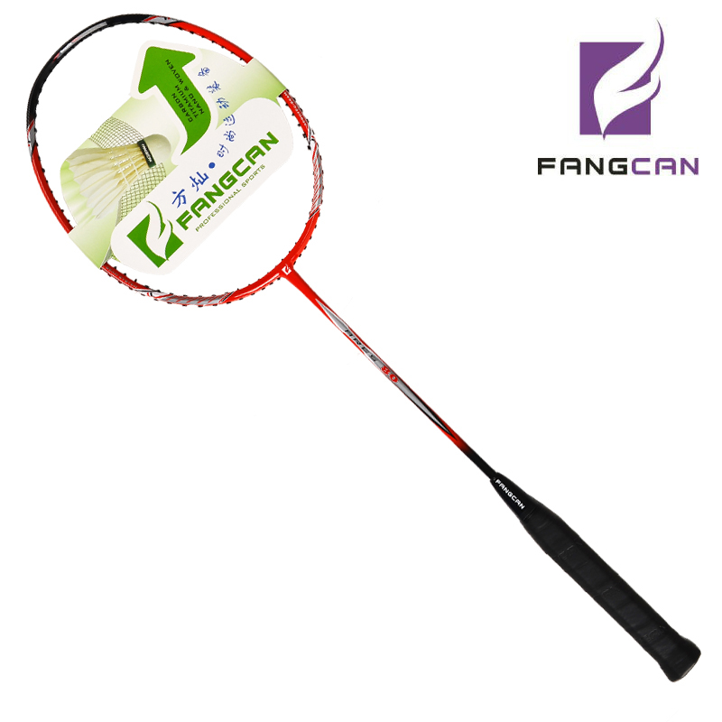 2 Pcs FANGCAN Ares 80 Breaking Offensive And Defensive Badminton Racket With String For Amateur Intermediate & Senior Players