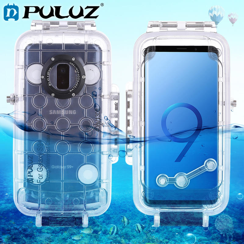 PULUZ 40m Waterproof Diving Housing For Galaxy S9 S9 Huawei Android 8 0 0 P20 Photo