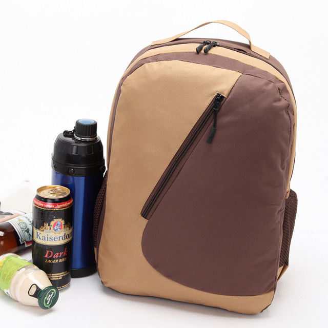 high quality Oxford cooler Backpack big capacity picnic lunch cool bag thermal large ice pack vehicle insulaton shoulder bag