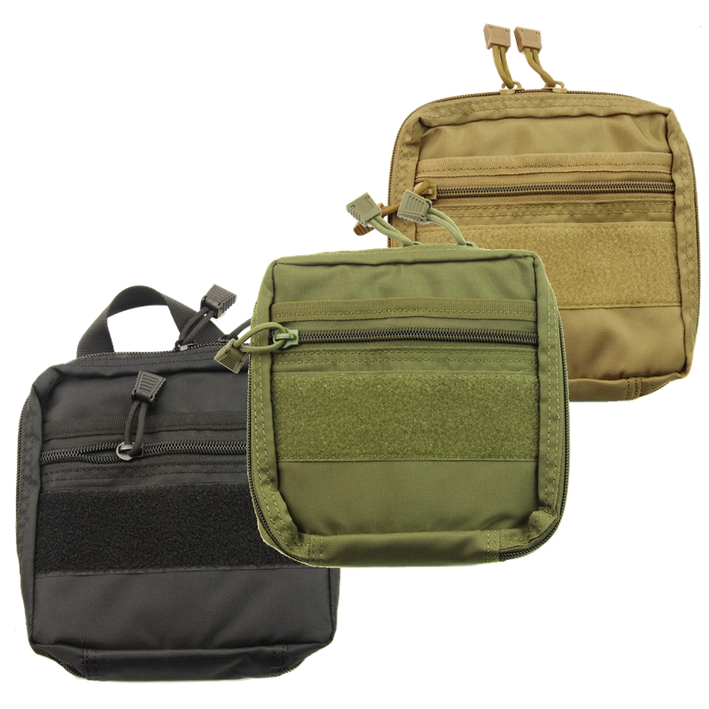 Molle Tactical Medical First Aid EDC Pouch Outdoor Sports Pocket Organizer Bag