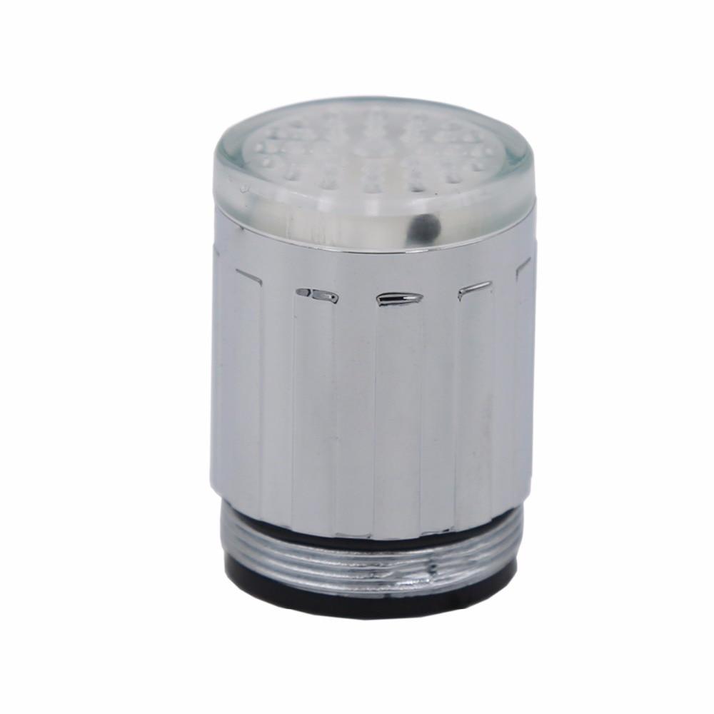 10 Pcs Lampu Led Keran Kamar Mandi Shower Air Otomatis Plastik Taman 02 302 Setengah Inch Sensor Suhu Perubahan Warna Tidak Ada Baterai 20 Off