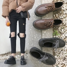 Harajuku style chic small shoes female students Korean versi