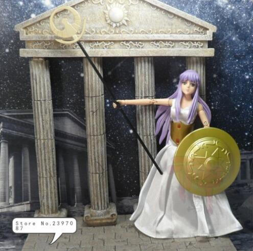 Livraison gratuite HK Saint tissu déesse Athena forme Saint Seiya mythe Action Fgure costume décontracté ensemble de luxe
