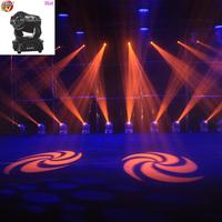 2pcs/lot led spot 90w spot stage light led gobo moving head light spot lighting dj set gobo christmas lights dj projector