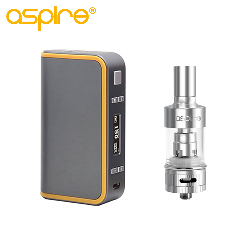 Original Aspire Atlantis Archon Combination Kit With Aspire Archon 150W TC Box Mod And 5ml Atlantis Tank E Cigarette 1 Pcs / Lot kvp lover 120w tc box mod kit