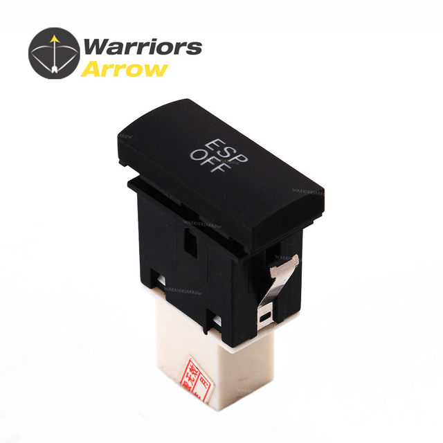 4F0927134 For Audi A6 C6 A6 QUATTRO 2005 2006 2007 2008 2009 2010 2011 ESP  Switch Electronic Button-in Car Switches & Relays from Automobiles &