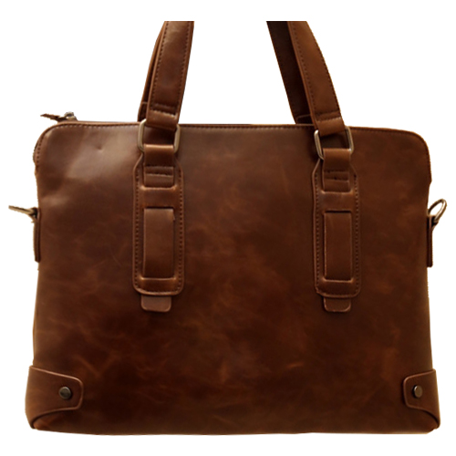 Искусственная кожа мужская деловая Повседневная Сумка/портфель 34*27*6 см