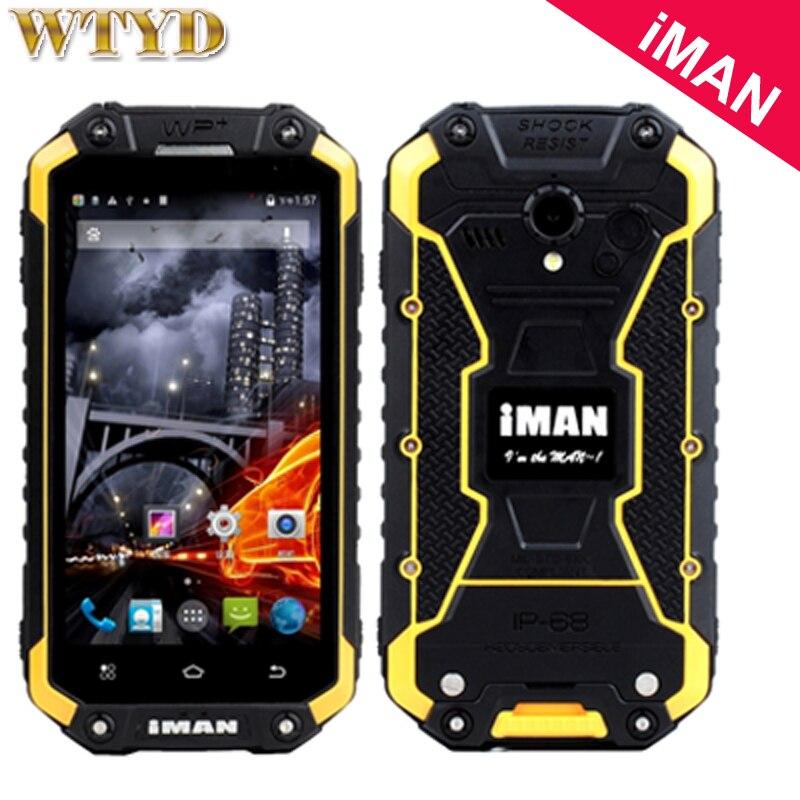 Original iMAN i6 Smartphone Android 4.4 16 GB/2 GB 3G IP68 A Prueba de agua A Prueba de segunda mano  Se entrega en toda España
