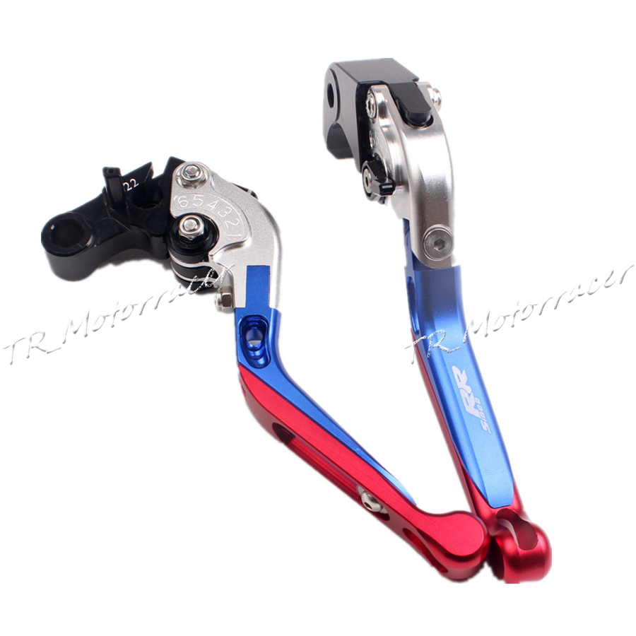 Motorcycle aluminum folding extendable brake clutch levers for bmw s1000rr 2010 2014 2011 12 2013