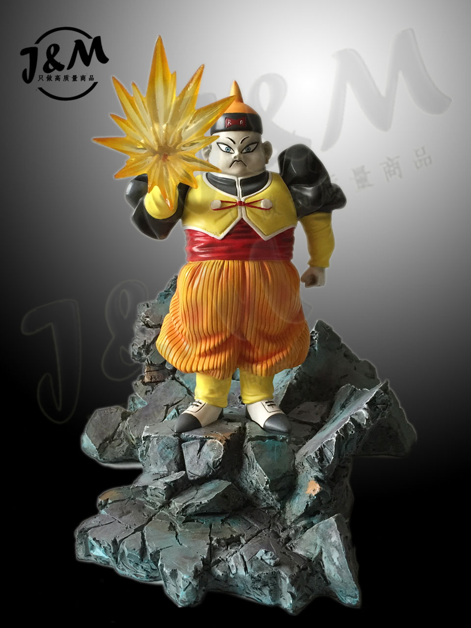 MODEL FANS JM Dragon Ball Z 22cm Android 19 gk resin action figure toy for Collection [show z store] [pre order] fanstoys ft 22 koot kup fans toys ft22 ft 22 cup transformation action figure