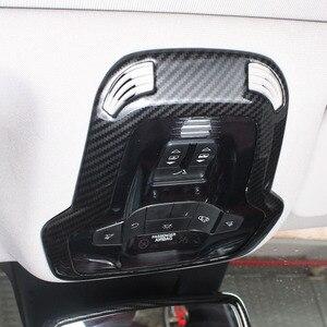 Image 4 - Для Alfa Romeo Giulia Stelvio обновленная интерьерная лампа для чтения лампа для украшения крыши Крышка переключатель рамка наклейка Стайлинг автомобиля