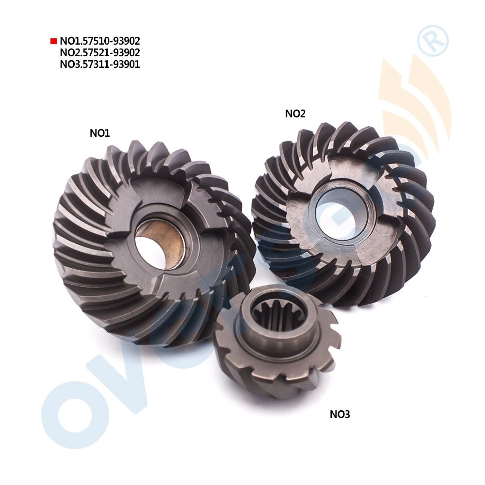 OUTBOARD GEAR SET 57510-93902 57521-93902 57311-93901 For Suzuki Outboard 9.9HP 15HP DT DF 9.9 15