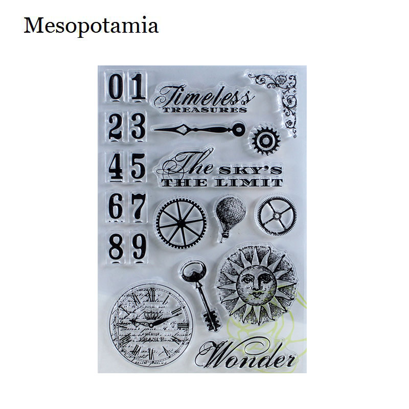 DIY Scrapbooking Albums Miss Travel Time Stamp Seal Transparent Silicone Spain Stamp Seal Decorative Sheets Arts Crafts Sewing ca0633 canada 2014 mammal stamp all sheets 1ms new 0626