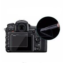 المقسى واقٍ زجاجي لنيكون D5 D500 D600 D610 D7100 D7200 D750 D780 D800 D800E D810 D850 كاميرا شاشة طبقة رقيقة واقية