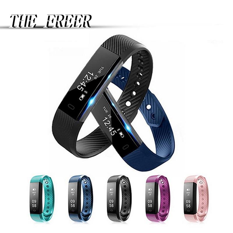 Smart Watch Bransoletka Fitness Tracker Krok Licznik Aktywność - Męskie zegarki - Zdjęcie 1