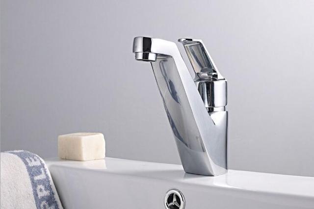 Bagno lavabo rubinetto cromato ottone rubinetto antiche del