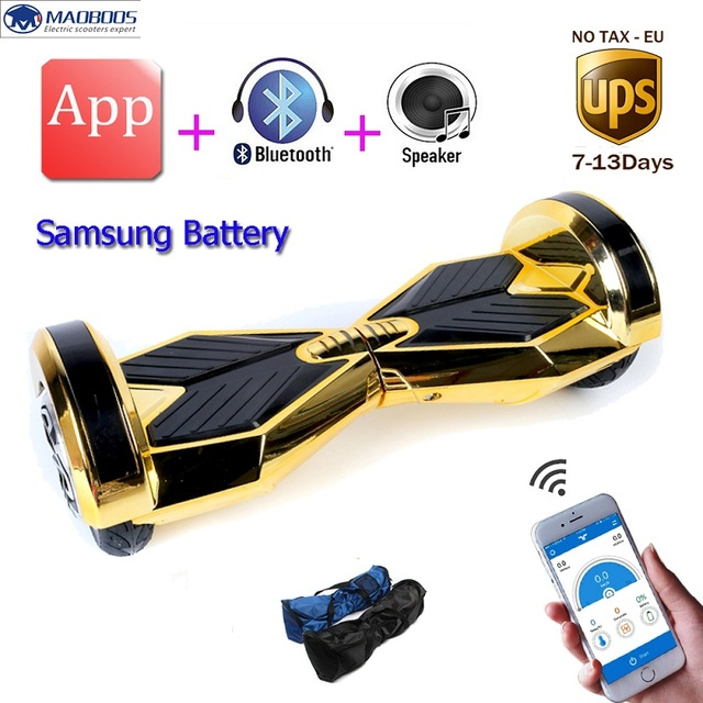 Hoverboard APP Control 8 Inch Two Wheel Self balance Scooters Hoverboard Electric Skateboard Electric Unicycle Scooter
