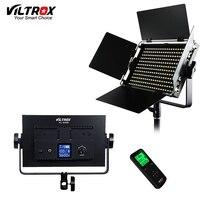 Viltrox VL S50 Камера SMD светодио дный студийный видео свет лампы 5600 К тонкий металлический Регулируемая яркость и Беспроводной дистанционный пул