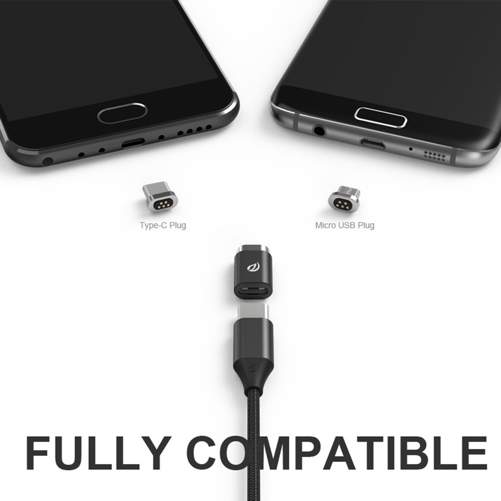 10PCS Mini 1 Mini 2 Magnetic Adapter Type-C & Micro USB Connector Adapter Organizer for Type-C Cable for Phone Anti-lost micro usb cable magnetic charger converter connector adapter for sony xperia z3 z3 compact z2 z1 z1 compact mini z3 tablet