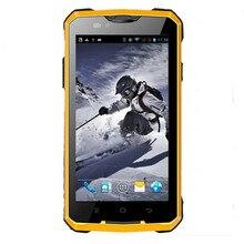 GUOPHONE V12 Android 4.4 Teléfono Inteligente a prueba de Choques Impermeable de 5 Pulgadas MTK6572 Dual Core 1.3 GHZ 4000 mAh 3G GPS Teléfono móvil
