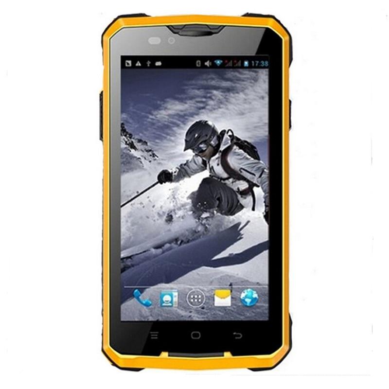 guophone v12 андроид 4.4 смартфон водонепроницаемая пыле противоударный 5 дюйма mtk6572 dual core 1.3 ггц 4000 мач 3 г gps мобильный телефон