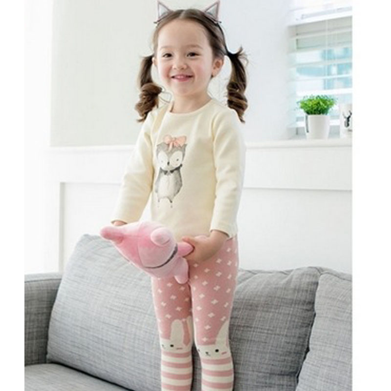 1 Pc Neue Mode-design Frühjahr Baumwolle Kind Strumpfhosen Baby Baby Leggings Große Pp Datei Cartoon Strumpfhosen Twt0096
