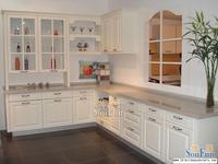 PVC/vinyl kitchen cabinet(LH PV002)