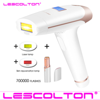 Lescolton IPL Epilator Permanent Laser Hair Removal LCD Display 700000 Pulses depilador a laser Bikini Trimmer Photoepilator