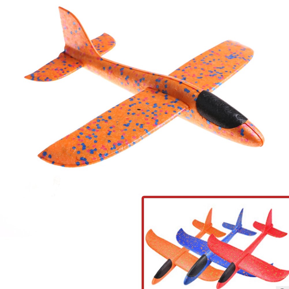 2017 12pcs Diy Hand Throw Flying Glider Planes Foam: 2018 Party Bag Fillers Flying Glider Plane Toys For Kids