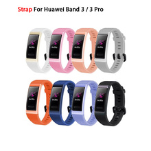 Get more info on the Strap For Huawei Band 3/3 pro Silicone Metals Repair Tool Adjustable Watch Band Replacement Smart Bracelet Accessory