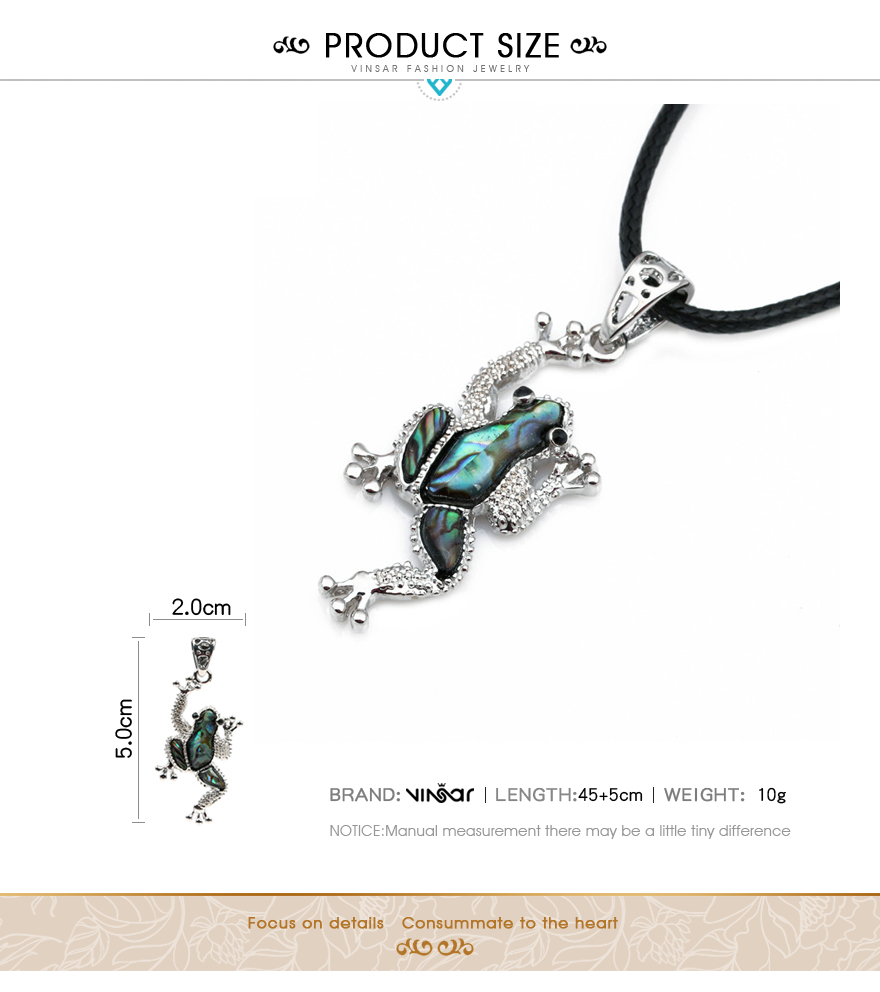 Frog Pendants Necklace (8)