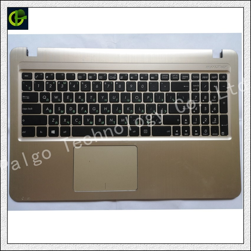 90% New Russian keyboard with palmrest cover for ASUS X540 X540L X540LA X544 X540LJ X540S X540SA X540SC R540 R540L RU touchpad new 33wh a31n1519 battery for asus x540s x540l x540la si302 x540sa x540sc x540s x540 x540ya 11 25v