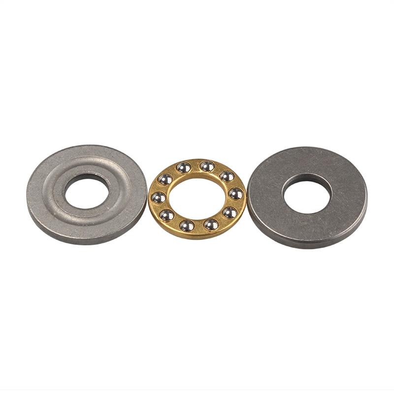 Miniatuur Stuwkracht Kogellagers F8/F10 Metalen Axiale Kogellager Set 8mm/10mm voor Hardware Accessoires
