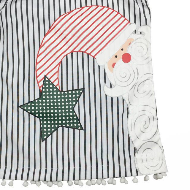 0-5Y Baby Girls Kids Casual Xmas Cotton Blend Tutu Dress Kläder - Barnkläder - Foto 5