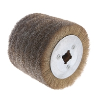 Deburring Abrasive Stainless Steel Wire Round Brush Polishing Grind Buffer Wheel zhongliangcuowu