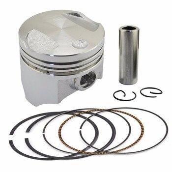цена на AHL Motorcycle Engine Parts STD ~+100 38mm~39mm Piston & Piston Ring Kit For Honda DIO 50 AF54 AF55 AF56 AF57 AF62 DIO50 Z4 50