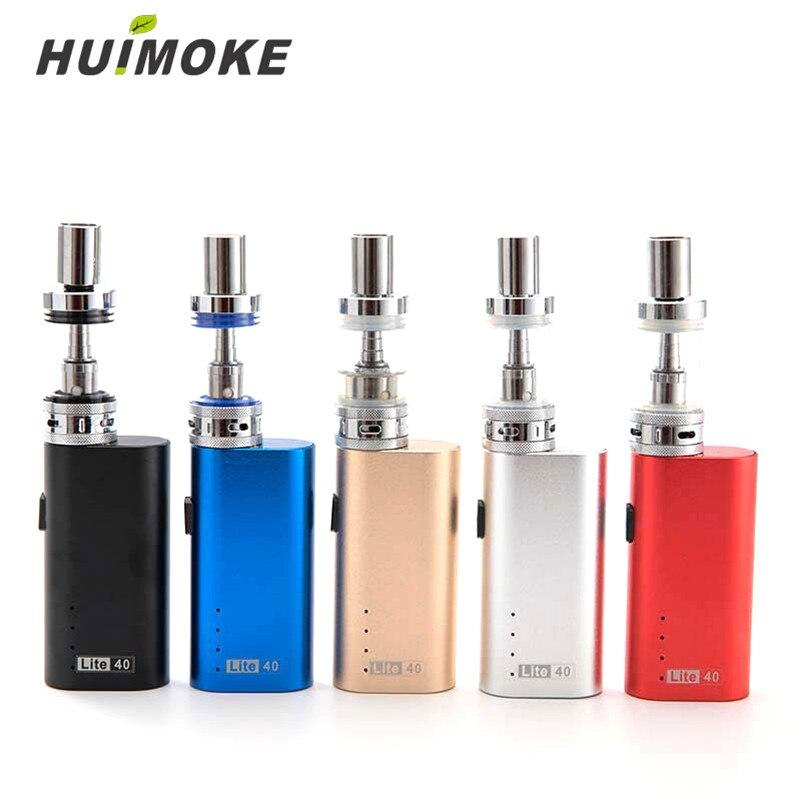 HUIMOKE 0.5ohm Elektronische Zigarette Lite40 Vape Mod 40 watt/2200 mah Verdampfer Stift 3,5 ml E-zigarette Mod kit HJG01