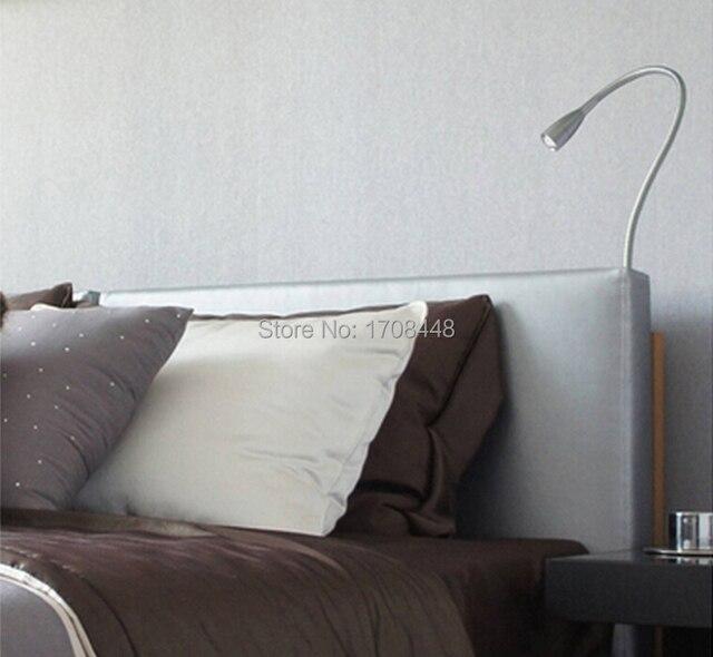 Great SC E101 Flexible LED Reading Lamp 1W Bedside LED Light Bed Lamp Desk Lamp  Goose Shaped Night Light